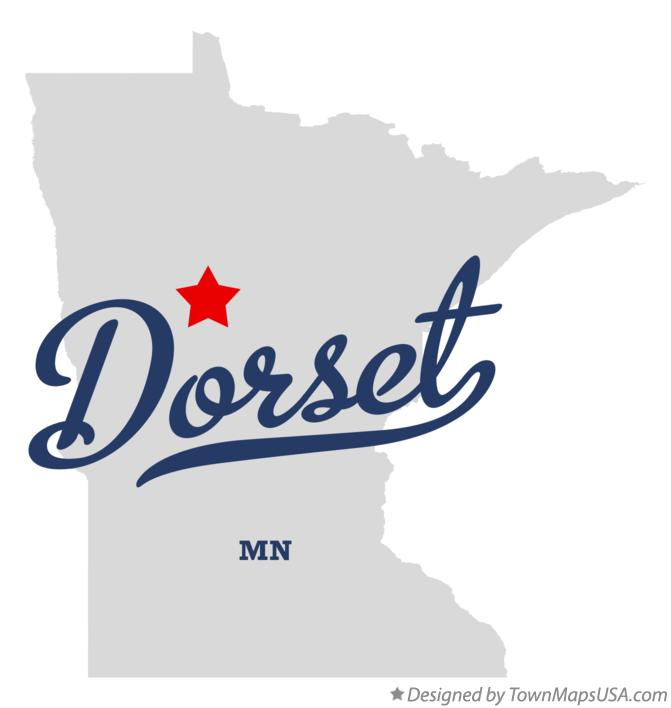 Map of Dorset Minnesota MN