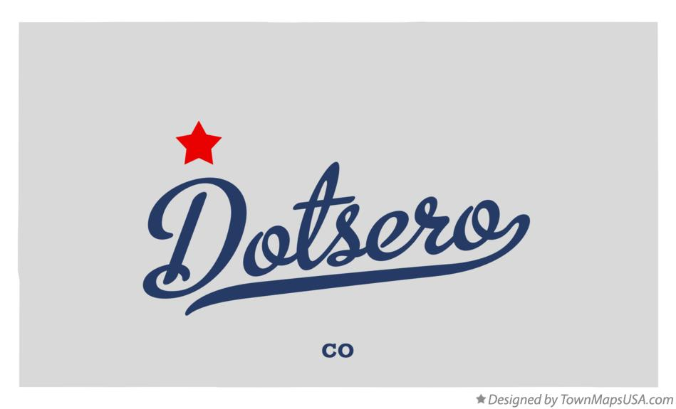 Map of Dotsero Colorado CO