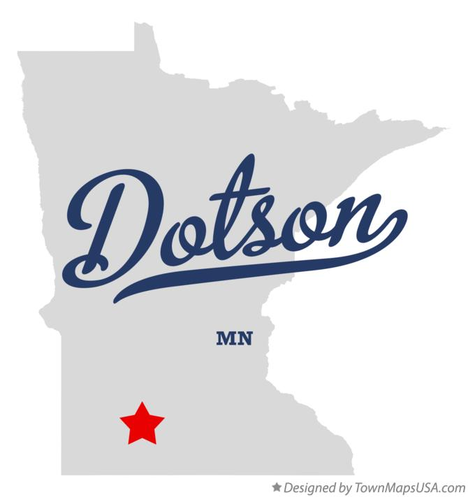 Map of Dotson Minnesota MN