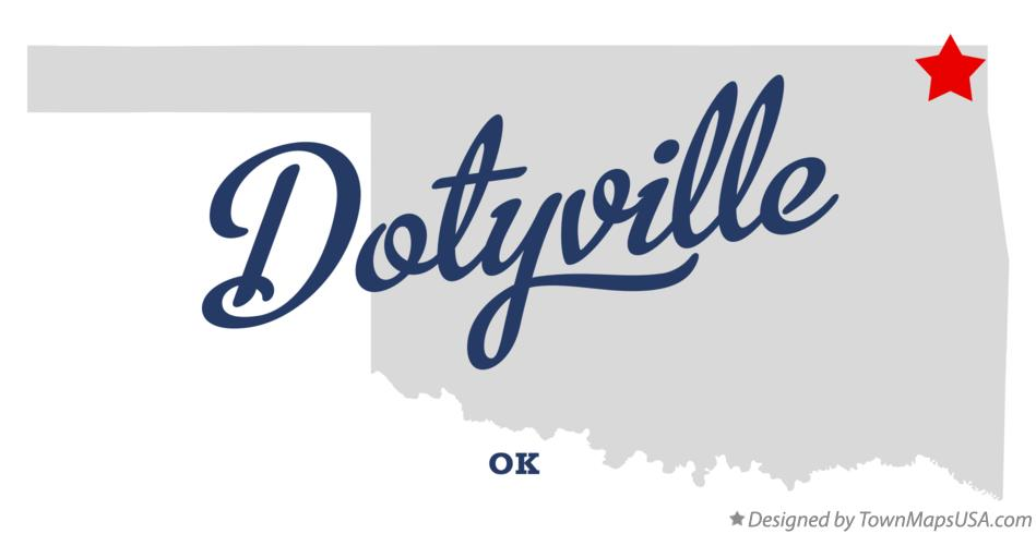 Map of Dotyville Oklahoma OK