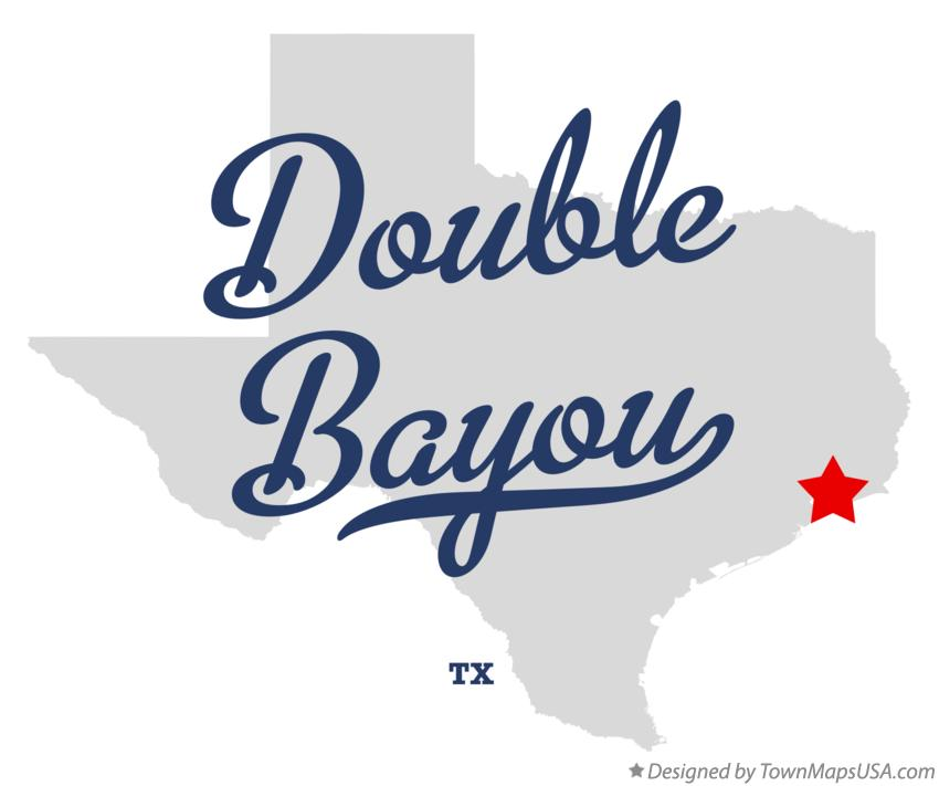 Map of Double Bayou Texas TX