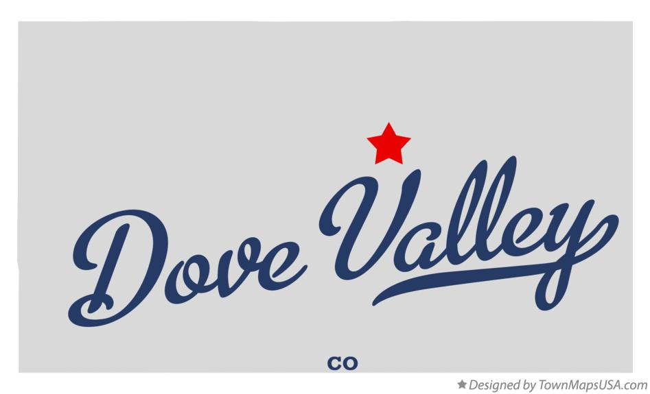 Map of Dove Valley Colorado CO