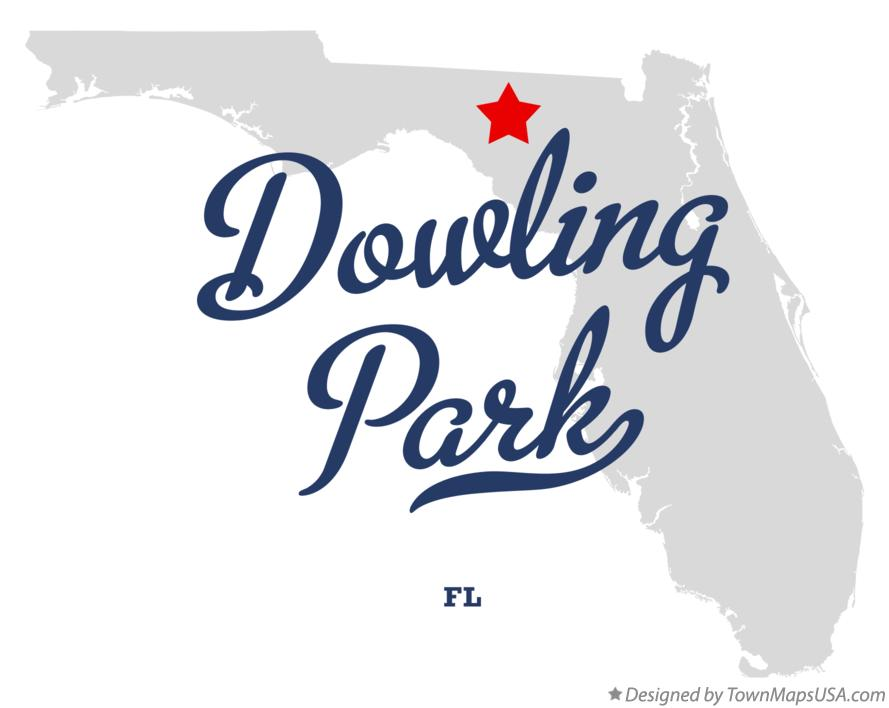Map of Dowling Park Florida FL