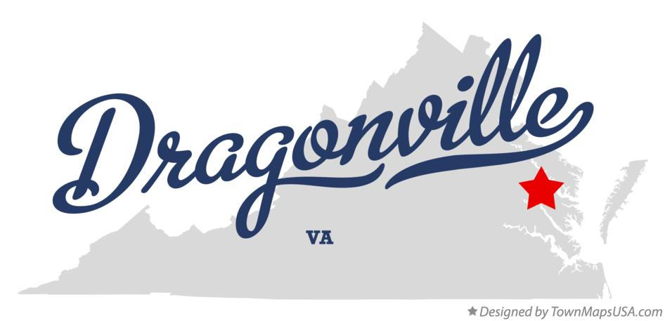 Map of Dragonville Virginia VA