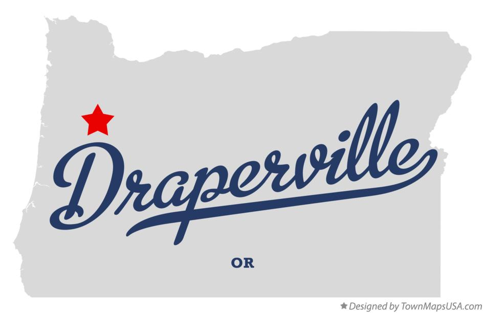 Map of Draperville Oregon OR