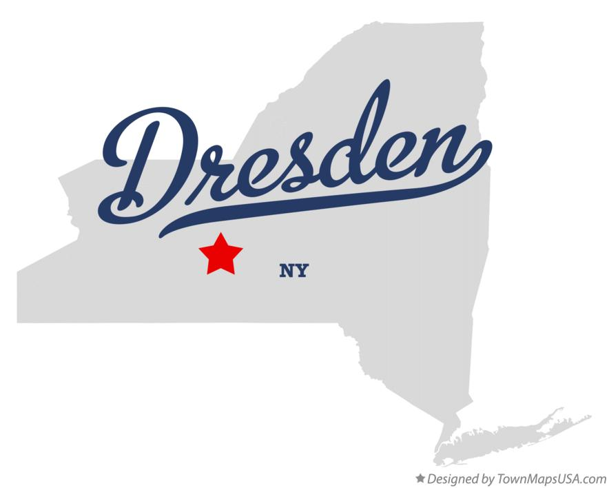 Map of Dresden New York NY