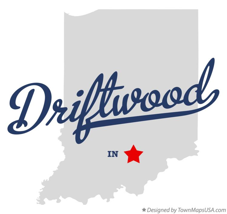 Map of Driftwood Indiana IN