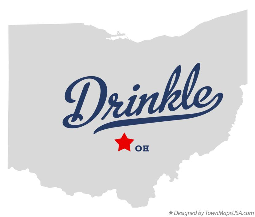 Map of Drinkle Ohio OH