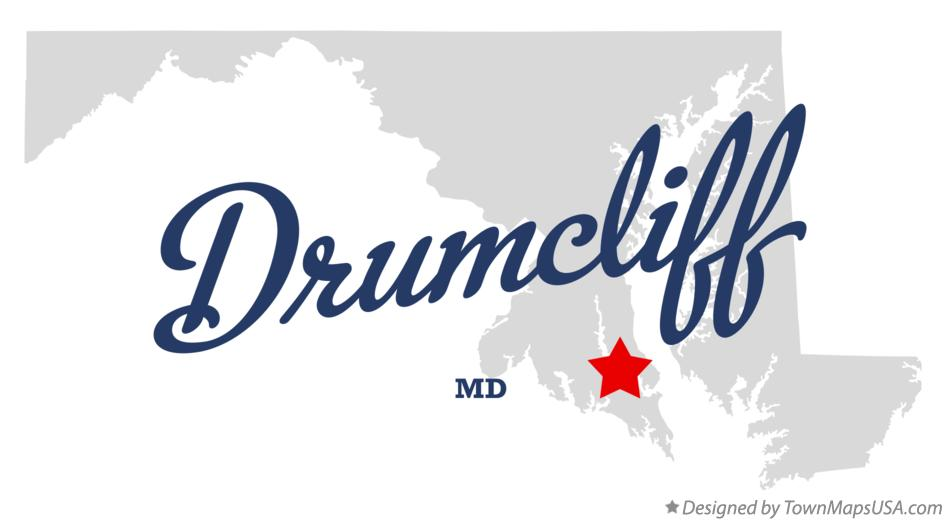 Map of Drumcliff Maryland MD
