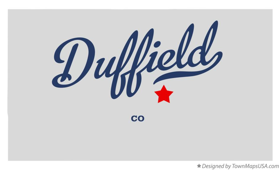 Map of Duffield Colorado CO
