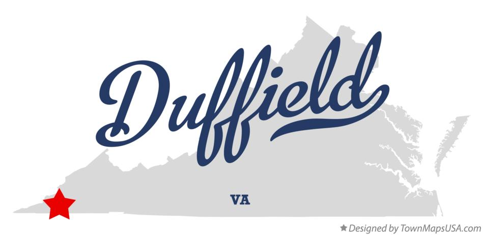 Map of Duffield Virginia VA