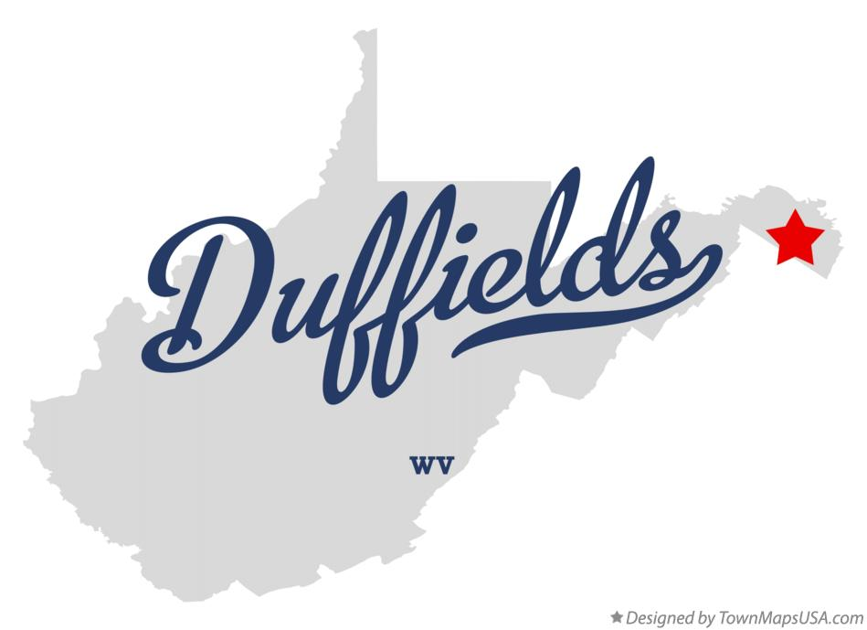 Map of Duffields West Virginia WV
