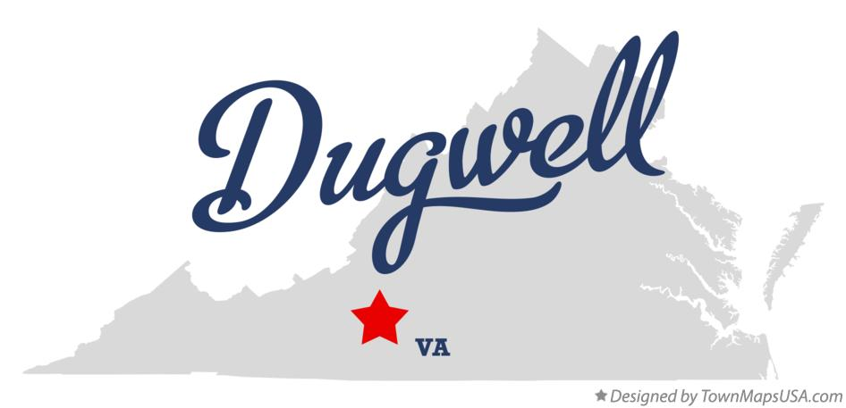 Map of Dugwell Virginia VA