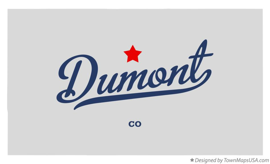 Map of Dumont Colorado CO