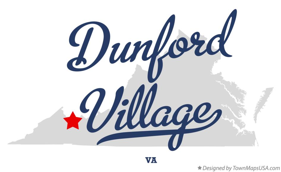 Map of Dunford Village Virginia VA