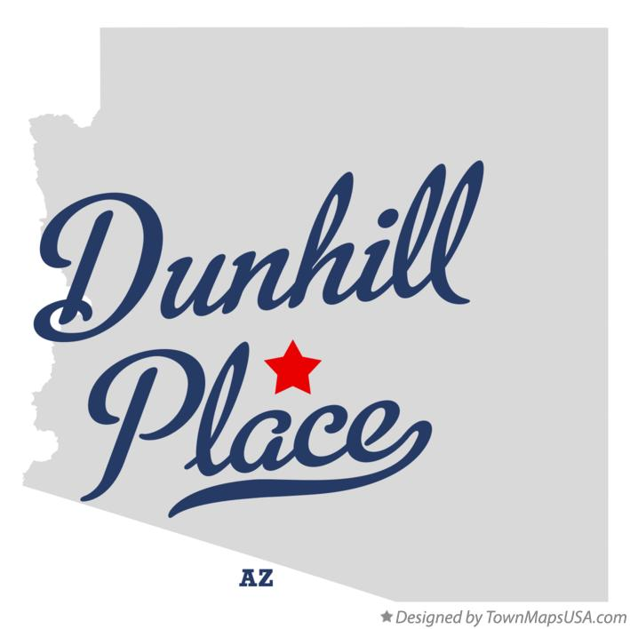 Map of Dunhill Place Arizona AZ