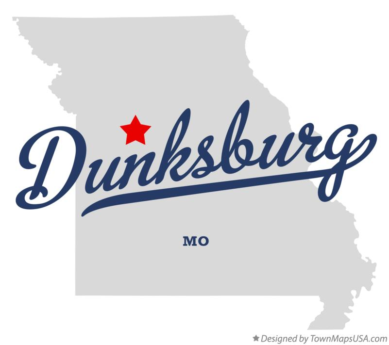 Map of Dunksburg Missouri MO