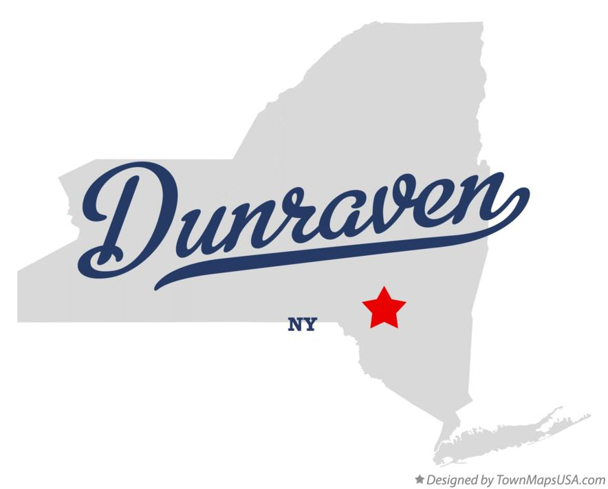 Map of Dunraven New York NY