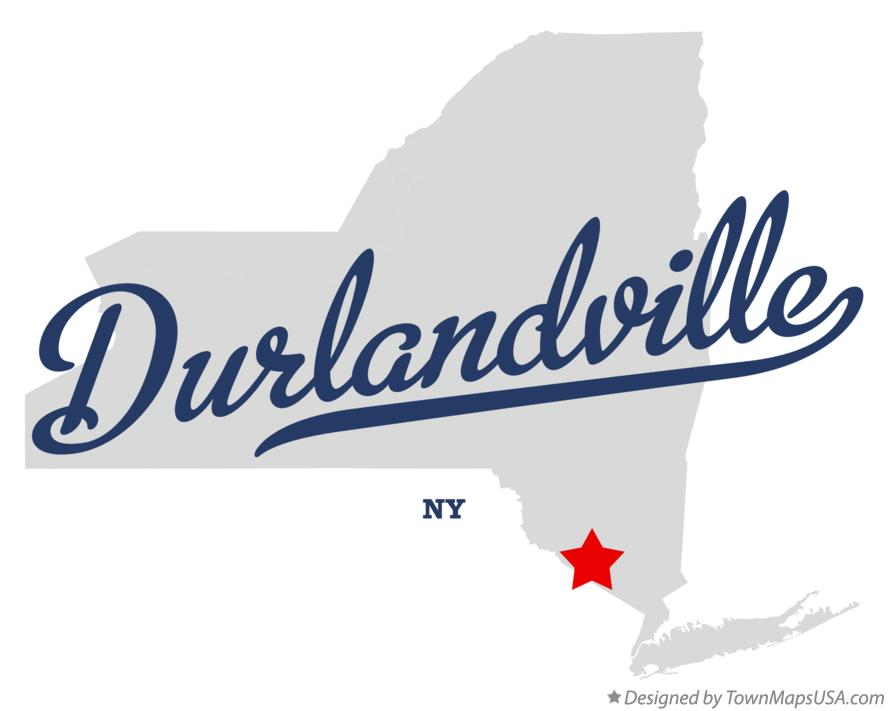 Map of Durlandville New York NY