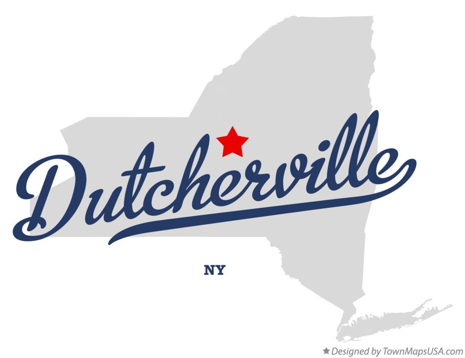 Map of Dutcherville New York NY