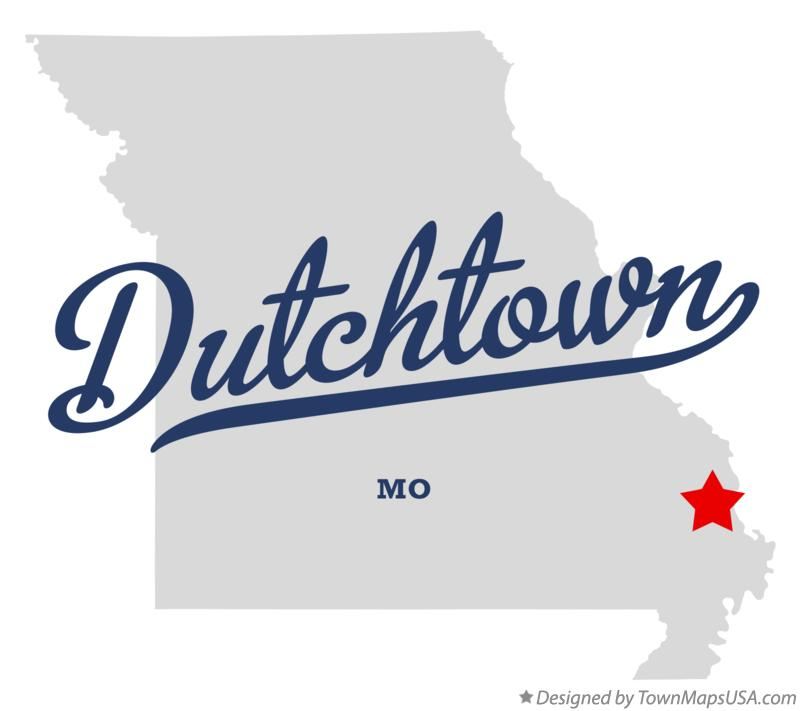 Map of Dutchtown Missouri MO