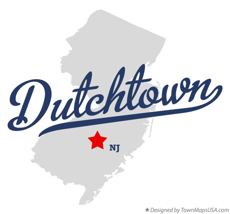 Map of Dutchtown New Jersey NJ