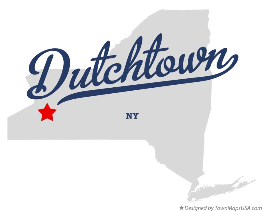 Map of Dutchtown New York NY