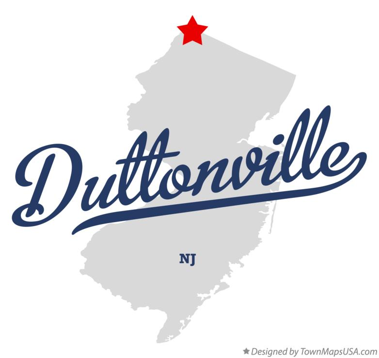 Map of Duttonville New Jersey NJ