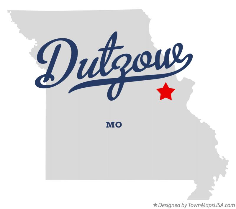 Map of Dutzow Missouri MO