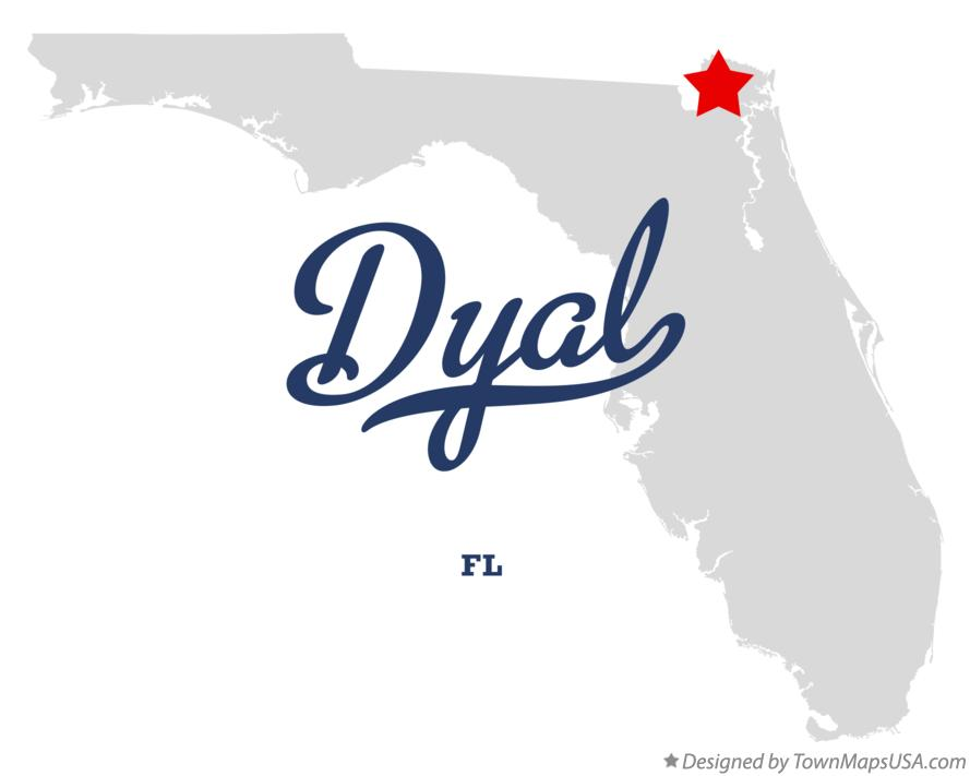 Map of Dyal Florida FL