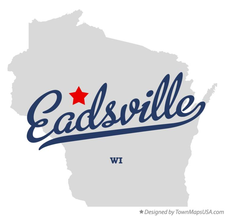 Map of Eadsville Wisconsin WI