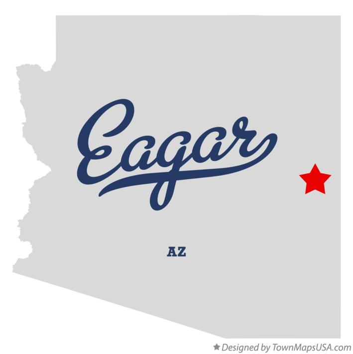 Eagar (AZ) United States  city photos : Map of Eagar, AZ, Arizona