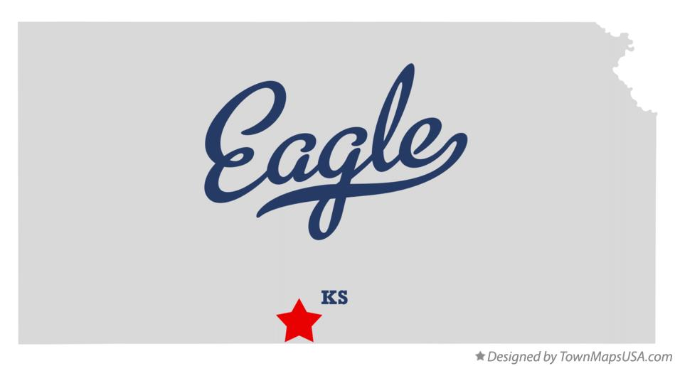 Map of Eagle Kansas KS