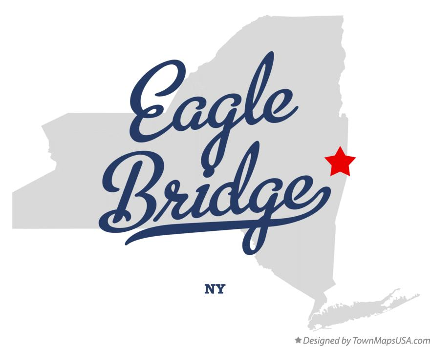 Map of Eagle Bridge New York NY