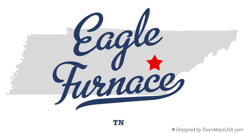 Map of Eagle Furnace Tennessee TN