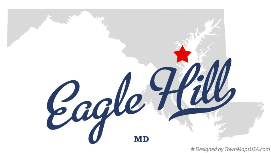 Map of Eagle Hill Maryland MD
