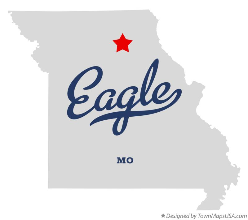 Map of Eagle Missouri MO