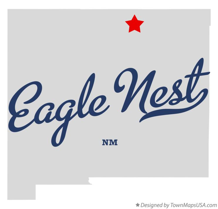 Map of Eagle Nest New Mexico NM