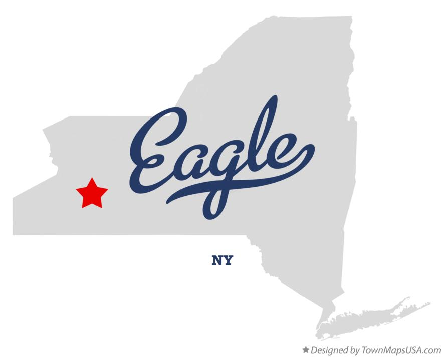 Map of Eagle New York NY