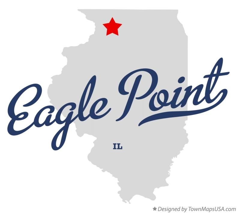 Map of Eagle Point Illinois IL