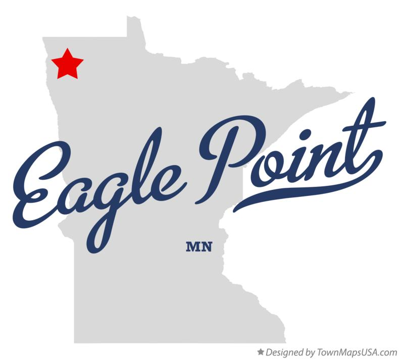 Map of Eagle Point Minnesota MN