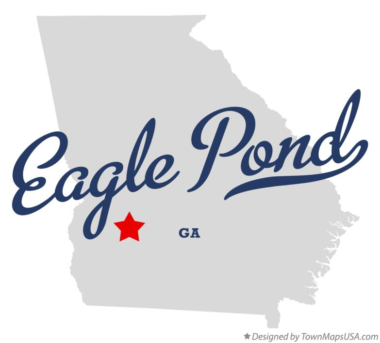 Map of Eagle Pond Georgia GA