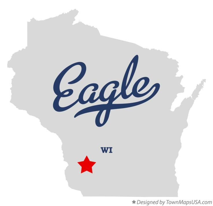 Map of Eagle Wisconsin WI