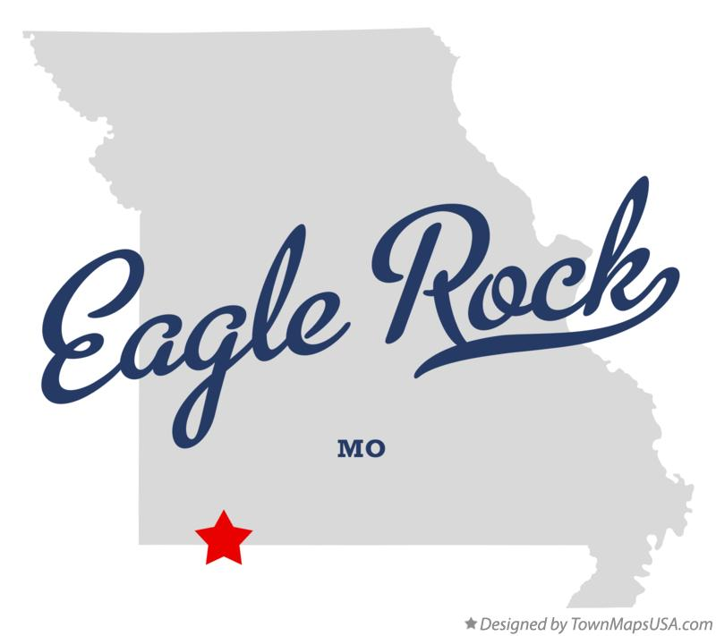 Map of Eagle Rock Missouri MO