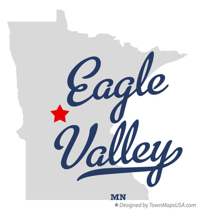 Map of Eagle Valley Minnesota MN
