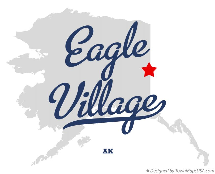 Map of Eagle Village Alaska AK