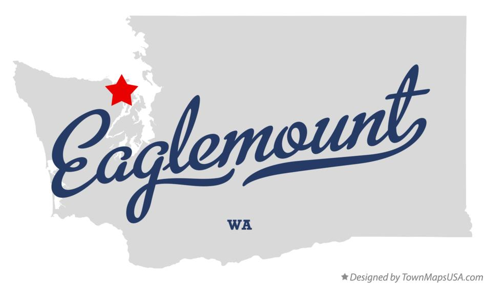 Map of Eaglemount Washington WA