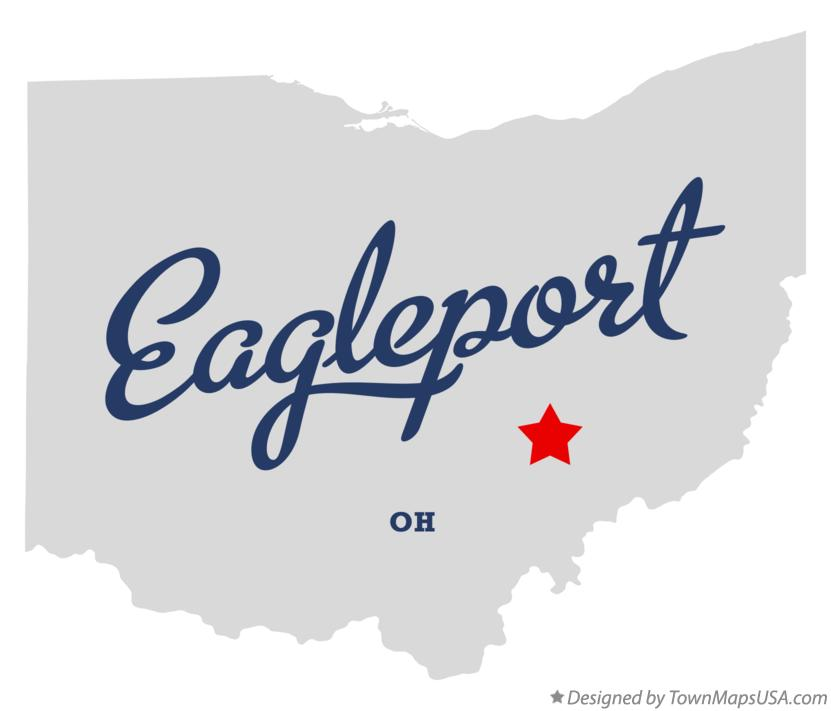 Map of Eagleport Ohio OH