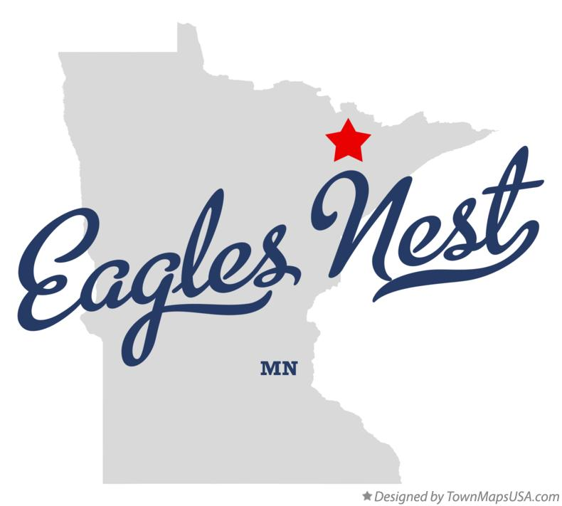 Map of Eagles Nest Minnesota MN