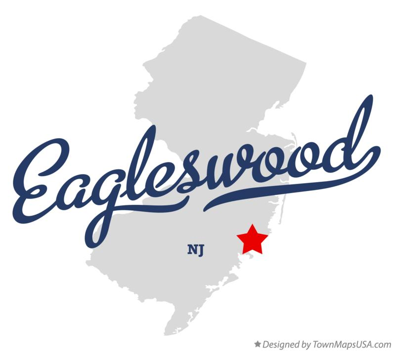 Map of Eagleswood New Jersey NJ